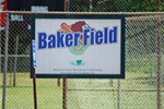 Baker Field Sign